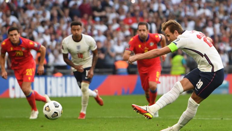 Огромни бонуси за футболистите на Англия