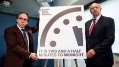 Часовникът на Страшния съд вече е с  30 сек. по-близо до фаталния час заради Тръмп