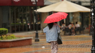 Слаб дъжд в Южна България