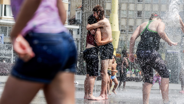 Рекордна температура в Белгия -  близо 42 градуса по Целзий