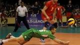 България срещу Белгия на полуфиналите в Световната лига