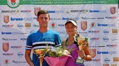 Лазаров и Аршинкова спечелиха титлата на смесени двойки във Велико Търново