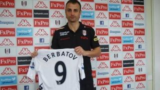 Димитър Бербатов подписа с Фулъм за 2 години
