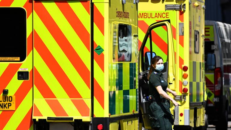 Ръководителите на NHSв Британия съобщават с тревога за броя на