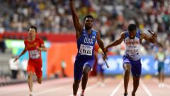 САЩ триумфира с титлата на 4 по 100 при мъжете
