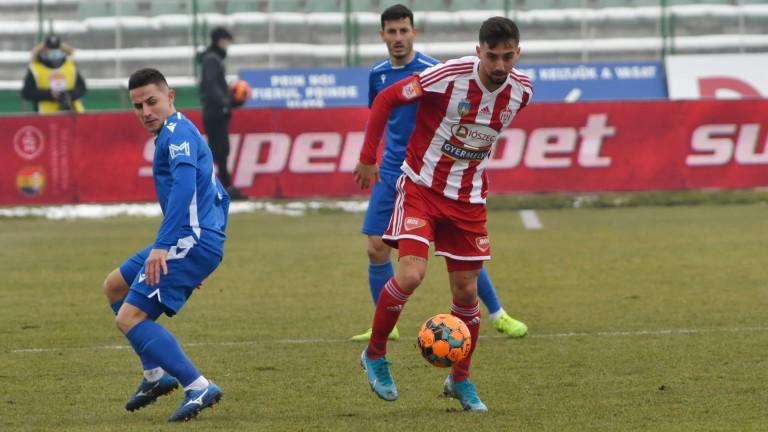 Българският халф Антони Иванов вкара двата гола за своя Волунтари