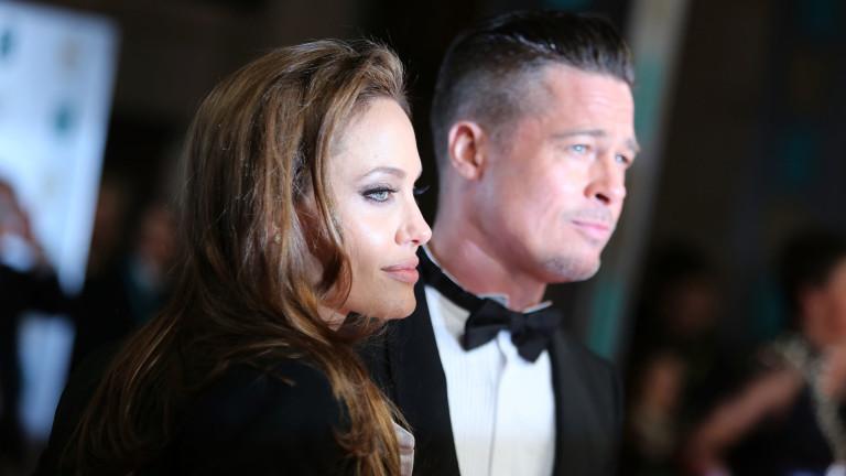 Снимка: Анджелна Джоли говори за раздялата с Брад Пит