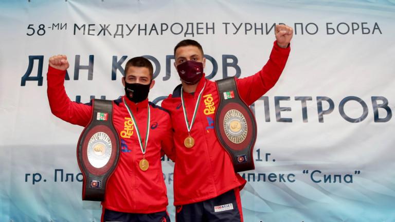 Дейвид Димитров и Микяй Наим станаха носители на златните пояси