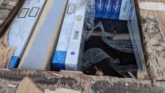"""Митничари заловиха 980 000 цигари в тайници на тирове на МП """"Капитан Андреево"""""""