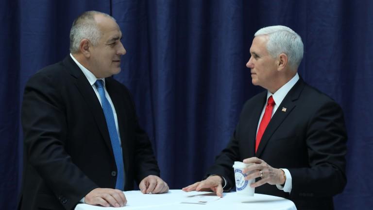 Вицепрезидентът на САЩ Майк Пенс е похвалил позицията на