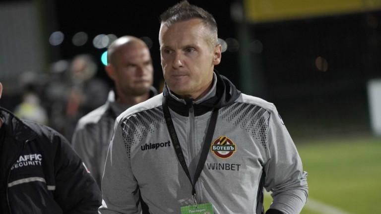 Валентич се закани на ЦСКА и Лудогорец: Искам 6 точки от двата мача