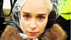 Емилия Кларк се измъчи от студ