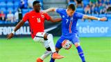 Исландия допусна загуба от Норвегия