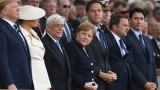 Меркел се срещна с Тръмп в Портсмут