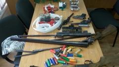 Хванаха мъж с незаконни оръжия в Копривщица