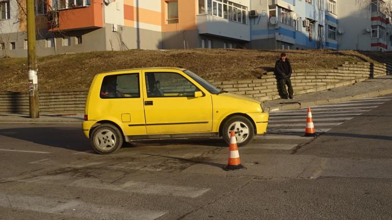 Снимка: Блъснаха 13-годишно дете на пешеходна пътека в Благоевград
