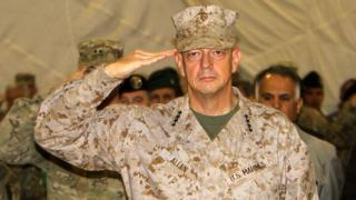 Ген. Алън отказа да бъде командващ на силите на НАТО в Европа