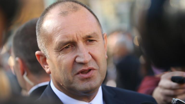 Президентът на България Румен Радев коментира двубоя България - Англия.Държавният