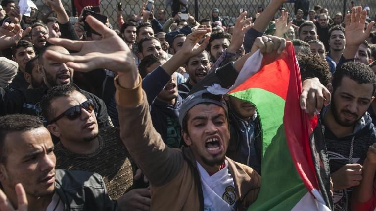 Палестина не преговоря със САЩ, докато не бъде отменено решението за Йерусалим