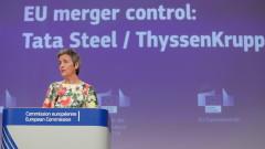 ЕК блокира сливането на Thyssenkrupp с индийския гигант Tata