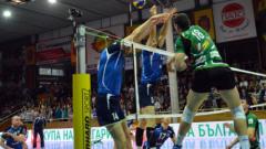 Супер сряда в Монтана, волейболистите победиха Добруджа с 3:1