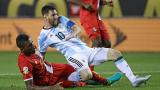 Аржентинската нация на колене пред Меси