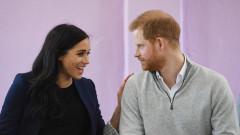 Как принц Хари се пошегува с бременността на Меган