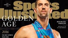 Майкъл Фелпс позира гол със златните си медали (СНИМКИ)