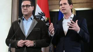 Популисти и консерватори договориха кабинет в Австрия