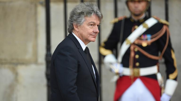 Франция номинира Тиери Бретон за еврокомисар