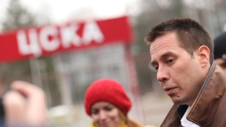 Трендафилов: ЦСКА преизпълни многократно програмата за инвестиции в базите