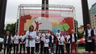 Йорданка Фандъкова откри 12-тото издание на Живей Активно! в София