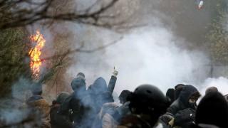Сблъсъци между жандармеристи и екоактивисти във Франция