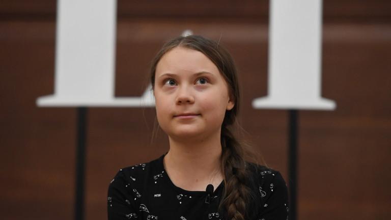Грета Тунберг настоява политиците да слушат учените за климатичните промени