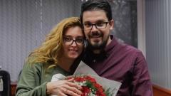 Журналист предложи брак в ефир