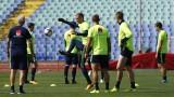 Яне Андерсон пропусна официалната тренировка на Швеция