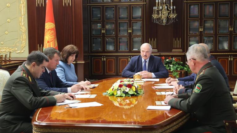Държавният секретар на Съвета за сигурност на Беларус Андрей Равков