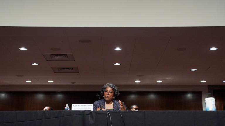 Линда Томас-Грийнфийлд утвърдена за посланик на САЩ в ООН