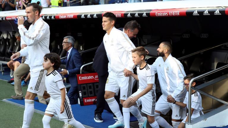 Реал (Мадрид) замина за Париж само с трима футболисти, които
