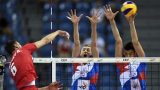 България загуби от Сърбия и остана шеста на Евроволей 2017