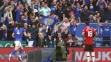 """Лестър наказа грешки на Манчестър Юнайтед и триумфира на """"Кинг Пауър"""""""