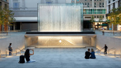 Apple създаде шедьовър в центъра на Милано
