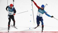 Фотофиниш определи олимпийския шампион в масовия старт