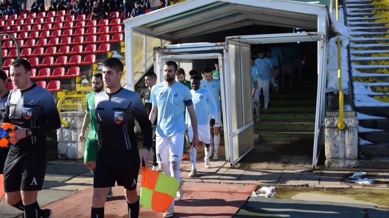 Отборът на Дунав записа победа с 2:0 над Ботев (Враца)