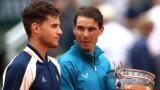 """Доминик Тийм: Когато Рафаел Надал спечели първия си """"Ролан Гарос"""", бях на 11 години"""