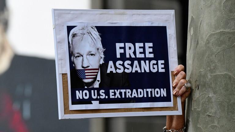 Започват съдебните изслушвания за екстрадирането на Асандж в САЩ