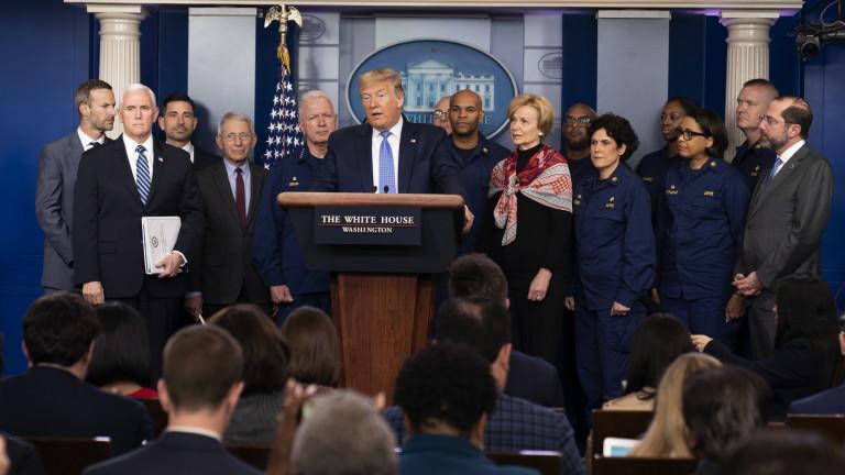 Тръмп призова американците: Без паника заради пандемията