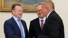 Борисов се похвали с новото КОНПИ на докладчиците за мониторинг на ПАСЕ