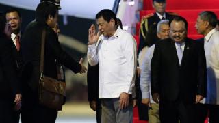 Президентът на Филипините гони американските войници