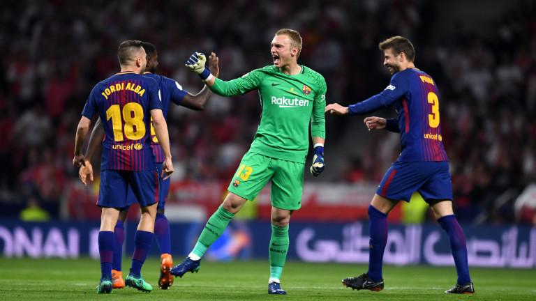 Бенфика е близо до втория вратар на Барселона